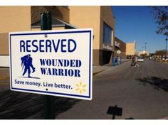 """""""A sign of respect"""" -- and a simple way Walmart says """"thank you"""" to our heroes."""