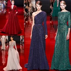 Wear an Elli Saab Couture Dress to an event