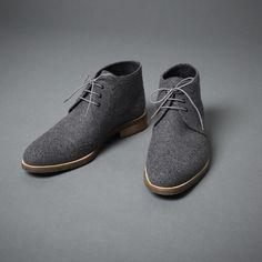 Desert grey boots