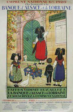 Vintage Ads, Vintage Posters, Alsace Lorraine, Illustrations, Strasbourg, Black Forest, Nursery Rhymes, Folk Art, Cool Pictures