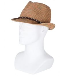 Shade your head with this trendy woven straw hat. Straw Fedora, Fedora Hat, Hats For Men, Panama Hat, Holiday, Shop, Summer, Accessories, Fashion