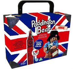 Paddington Bear Complete Series Collector's Union Jack Jubilee Edition Suitcase