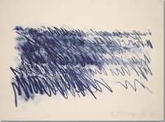 Cy Twombly – Sea, 1971