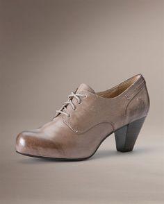 Frye Shoes - mye fint i skinn fra The Frye Company