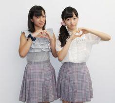 小川麗奈(写真左)、山木梨沙(右)が「TOKYO DESIGNERS WEEK.tv」の収録現場に潜入!