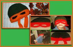 """**CHILD SIZE** TURTLE HAT """"Orange Bandana"""""""