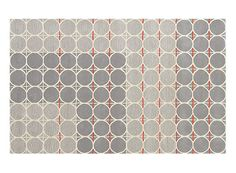 Grey Dot with Orange Rug — ACCESSORIES -- Better Living Through Design