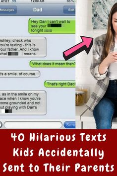 #Wrong #Person #Hilarious #Texts #Kids #Accidentally #Parents Edgy Short Haircuts, Single Leg Deadlift, Custom Embroidered Patches, Face Massage, Birthday Gifts For Best Friend, Teeth Care, Bottle Design, Diy Birthday, Vintage Hairstyles