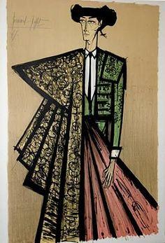 Bernard Buffet Lithographs | Bernard Buffet (1928-1999). Toréador. Lithographie en couleurs ...
