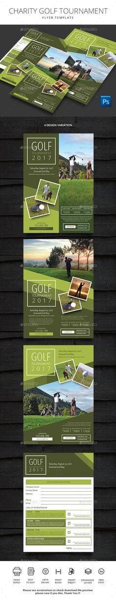 Corporate Golf Tournament Example Golf Tournament Poster Ideas - golf tournament brochure