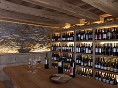 San Lorenzo in Pustertal, Italy. rustic-log-cabin-design-stunning-interiors-8.jpg