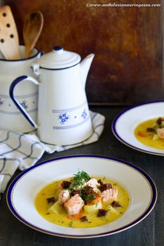 This soup is the taste of the Finnish archipelago @ a plate