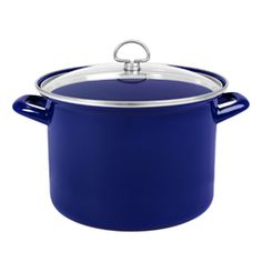 Chantal's - Enamel-On-Steel Covered Stockpot (8 qt.)
