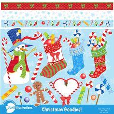 Christmas Goodies Clipart - Cliparts - Christmas Goodies Clipart - Mygrafico.com