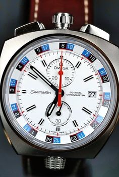 Omega Seamaster Bullhead Co-Axial Chronometer 2013 Re-issue