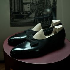 708fd9a00ee Opera pumps on classic last Loafer Slippers