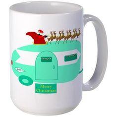 Merry Christmas RV Mugs on CafePress.com