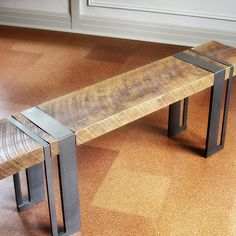 "Reclaimed Wood bench ""Titan"""