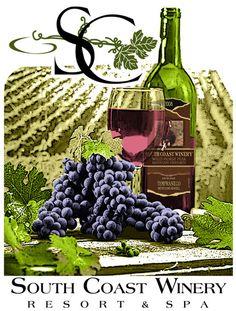 south coast winery - my favorite!