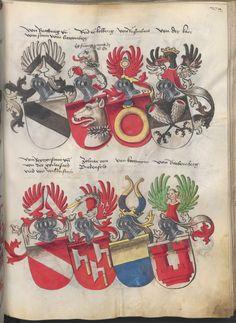 Grünenberg, Konrad: Das Wappenbuch Conrads von Grünenberg, Ritters und Bürgers zu Constanz um 1480 Cgm 145 Folio 284