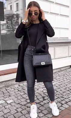 Uni Outfits, Winter Fashion Outfits, Mode Outfits, Fall Winter Outfits, Cute Casual Outfits, Everyday Outfits, Look Fashion, Stylish Outfits, Womens Fashion