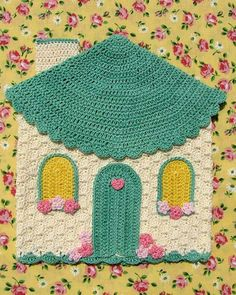 BC003 - Grandmama's Favorite Decorative Potholders and Hot Pads Download - Sweetheart Cottage