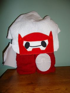 Check out this item in my Etsy shop https://www.etsy.com/listing/258270570/inflatable-hero-hooded-towel-w-removable
