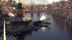 1st Place, Ancient Civilizations: Lost & Found: Film/VFX Matte Painting