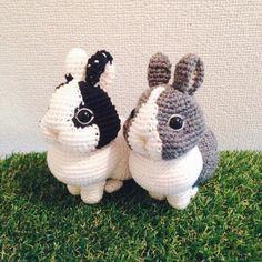 How To Crochet an Amigurumi Rabbit - Craft & Patterns Crochet Animal Amigurumi, Crochet Animal Patterns, Stuffed Animal Patterns, Amigurumi Patterns, Amigurumi Doll, Crochet Animals, Crochet Dolls, Knitting Patterns, Easter Crochet