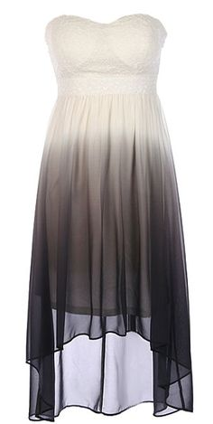 Ombre Illusion Dress