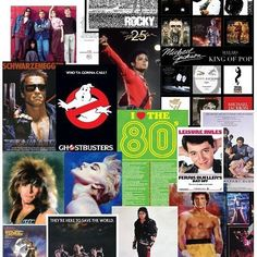 Amazon.com: (24x36) Lot of 10 Amazing 80s Posters For Your Themed Party Decorations