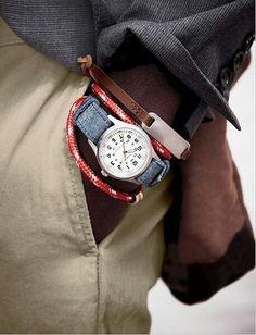 .Jeans strap brilliant!