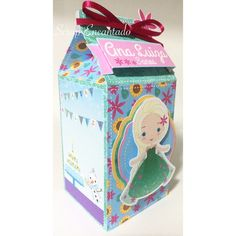 Festa Frozen Fever, Birthday Candy, Frozen Party, Toy Chest, Decorative Boxes, Lunch Box, Silhouette, Ideas Aniversario, Party Kit