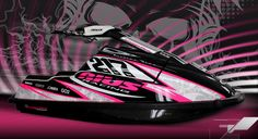 always wanted a pink jet ski for as long as i can remember!! i WILL have one someday