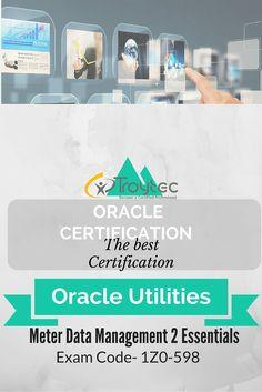 #Oracle Utilities Meter Data Management 2 Essentials Exam #1Z0_598