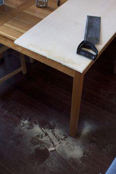 Homemade desk