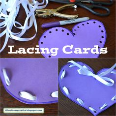 Lacing Cards for kids