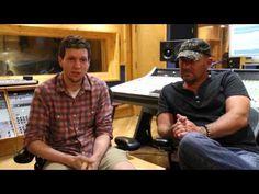 Scott Coner in the studio.