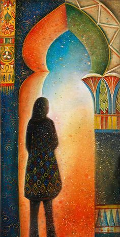 Contemplation-Valerie-Sjodin Amazing artist with amazing journal pages!