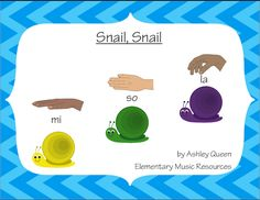 Snail, Snail: A La-So-Mi Activity for Smartboard and Boomwhackers Music And Movement, Primary Music, Elementary Music, Music Classroom, Creative Activities, Music Education, Snail, Projects To Try, Student