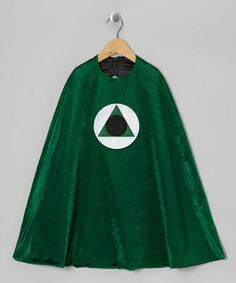 Loving this Green Hero Cape on #zulily! #zulilyfinds