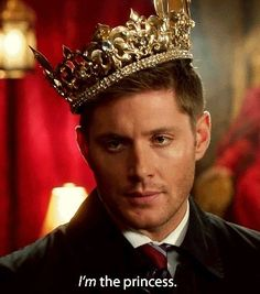 supernatural, princess, and dean winchester image
