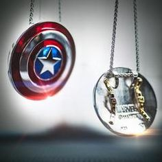 Captain America *Small* Shield Pendant in Sterling Silver or Gold, Official Marvel Collectible Marvel Avengers, Marvel Fan, Marvel Comics, Avengers Quotes, Avengers Imagines, Marvel Memes, Marvel Fashion, Capitan America Marvel, Fandom Jewelry