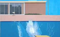 A Bigger Splash, Tate Modern's sprawling survey of painting and performance   art featuring Hockney, Pollock and Klein, is a  fascinating, messy, and   entertaining show, writes Richard Dorment.