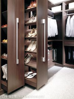Amazing Closet Design Ideas For Your Home. Below are the Closet Design Ideas For Your Home. This post about Closet Design Ideas For Your Home was posted under the Furniture category by our team at July 2019 at pm. Hope you enjoy it and don& . Wardrobe Design Bedroom, Master Bedroom Closet, Bedroom Wardrobe, Wardrobe Closet, Open Wardrobe, Diy Bedroom, Shoe Closet, Wardrobe Furniture, Trendy Bedroom