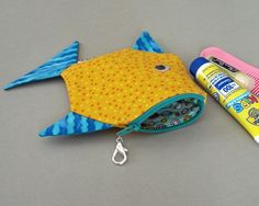 cute photo of fish wallet