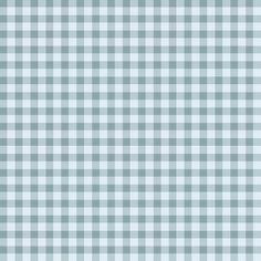 Motif vichy en nuances de bleu