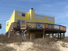 Sea Isle Vacation Rental - VRBO 302260 - 2 BR Galveston House in TX, Charming Beachfront House Sleeps 8 ** Steps from the Beach