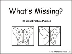 What's Missing Worksheets | Title of Electronic Book: What's Missing?