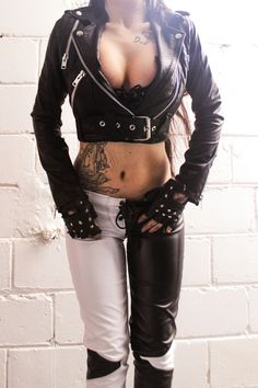 """TOXIC VISION Duality cigarette pants 
